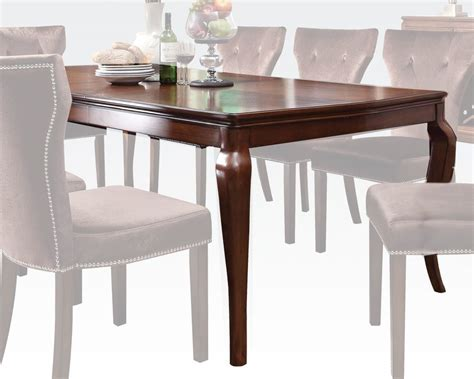 acme dining table dining table kingston by acme furniture ac60020