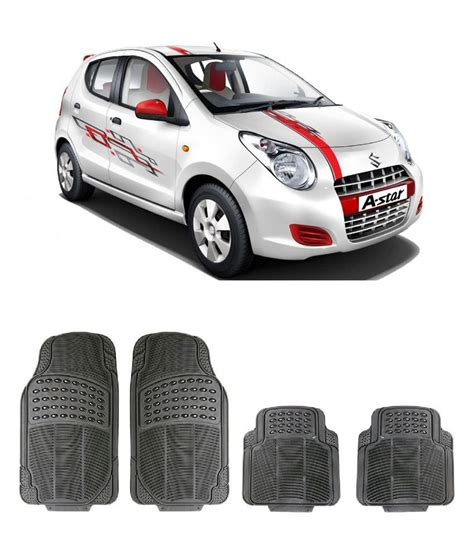 buy rubber sts india digitru car rubber foot mat alto k10 black buy