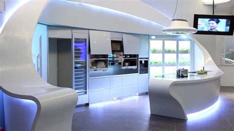 future home interior design une cuisine design futuriste vue par les yeux des