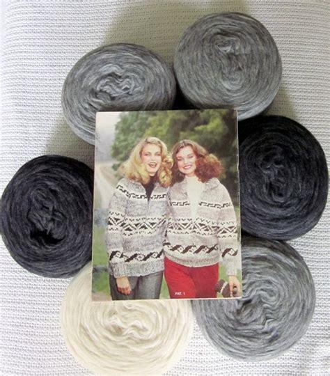 knitting supplies canada knitting kit cowichan sweater geometric pattern canadian