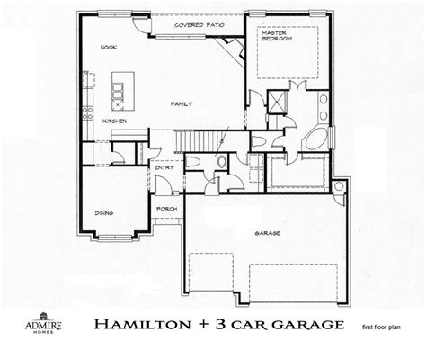 floor plans with 3 car garage 15 beautiful 3 car garage floor plans house plans 7529