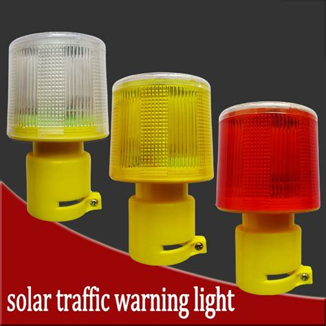 solar powered traffic lights solar powered traffic light led safety signal beacon alarm
