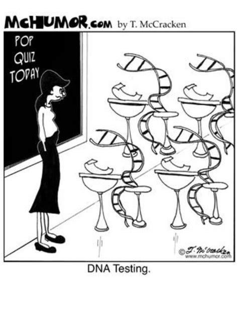 DNA testing   Science Cartoons   Pinterest   Cartoon, Dna ... Genetics Jokes