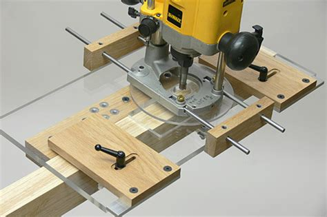 woodworking guides router morticing jig woodworkers