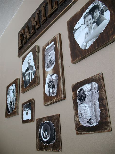 decoupage photographs decoupage family photo plaques crafts by amanda
