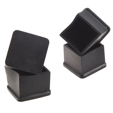 Chair For Foot by 15pcs Black Rubber 30mmx30mm Square Chair Foot Cover Chair