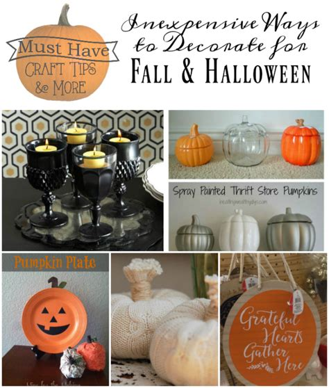 inexpensive ways to decorate for tips inexpensive ways to decorate for fall and