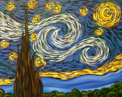 paint nite valencia simply a starry the alameda chamber of commerce