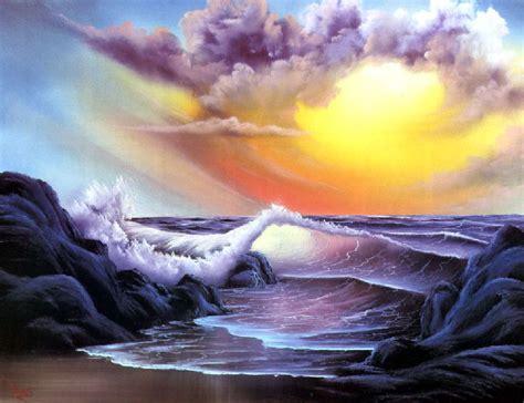 bob ross painting the revenant seas bob ross charming views