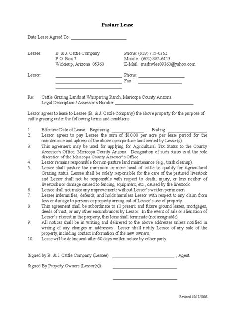 contract farming agreement template doc export agreement