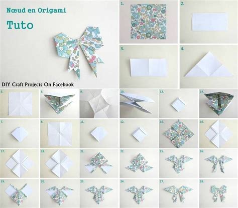 how to make a origami ribbon diy origami bow tie diy recycle origami