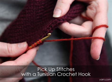 knitting picking up stitches neckband webs yarn store 187 tuesday s knitting tip up