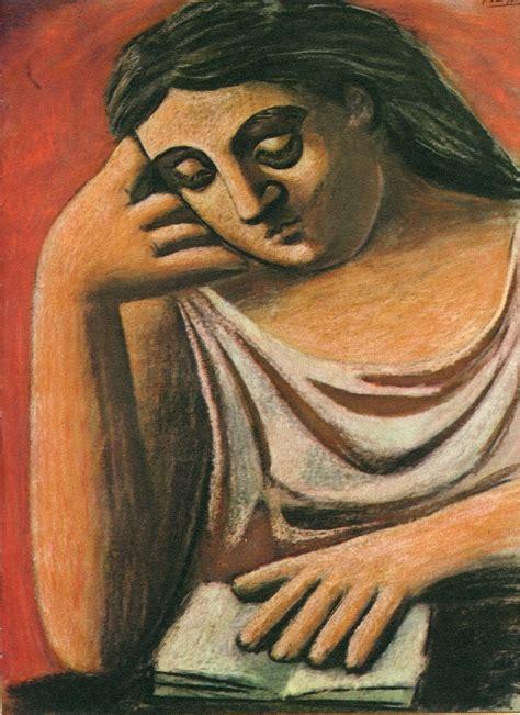 Reading 1921 Pablo Picasso Biblioklept