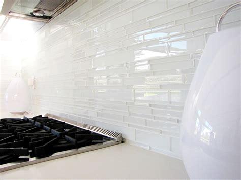 white kitchen glass backsplash white glass tile backsplash kitchen midcentury with