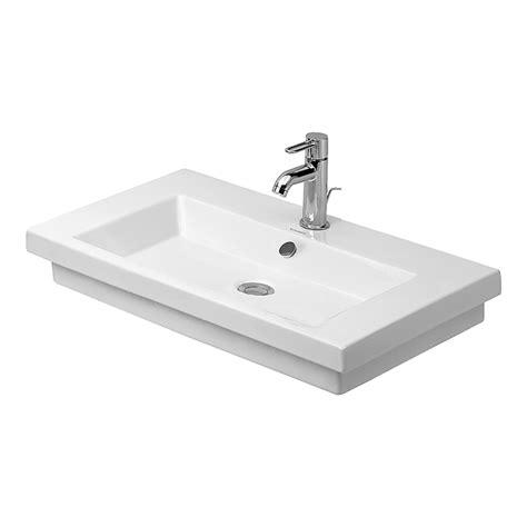 duravit kitchen sink duravit 049180 00 2nd floor washbasin self