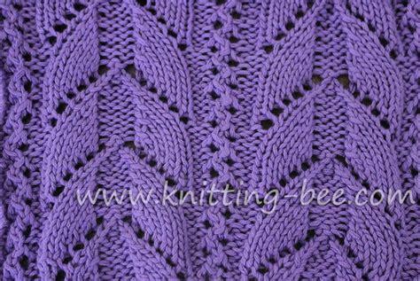 free knitting stitches lacy arch free knitting stitch by knitting bee http www