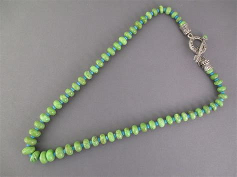 how to make turquoise jewelry gaspeite turquoise necklace american jewelry