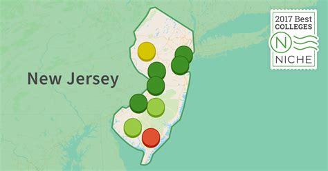 in new jersey 2017 best colleges in new jersey niche