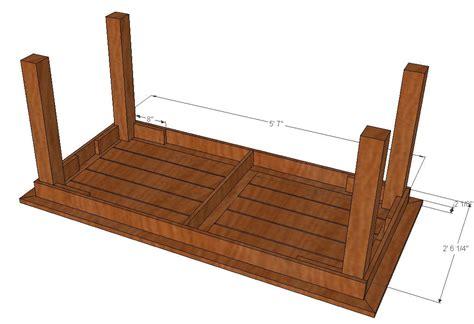 cedar patio table plans bryan s site diy cedar patio table plans