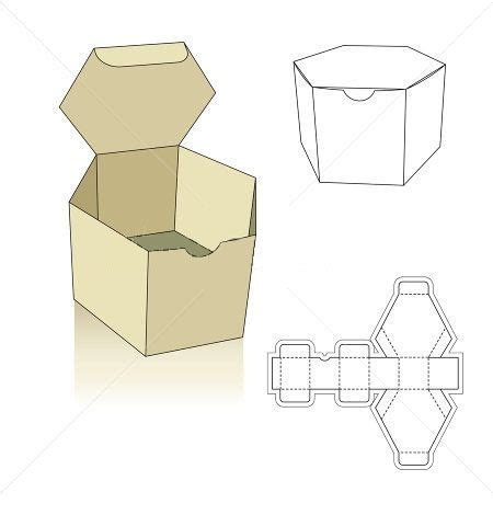 origami boxes with lids templates polygon box template hledat googlem boxes ideas