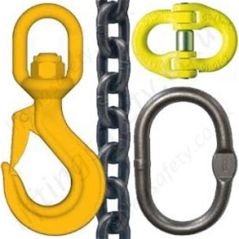 chain and components chain slings assemblies components lifting equipment
