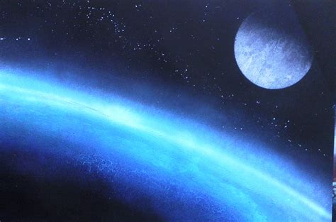 spray paint moon how to gallery spray paint and spacepaintings