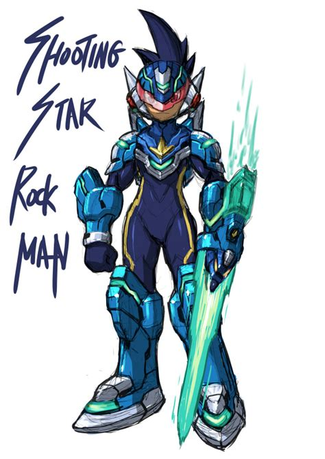megaman starforce check out some neat artwork the mega network
