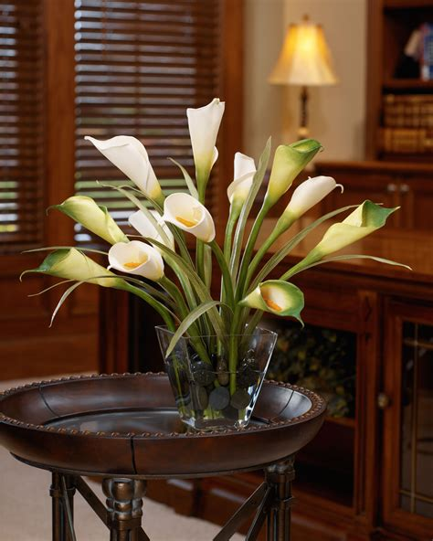 silk centerpieces buy calla foliage silk flower centerpiece at