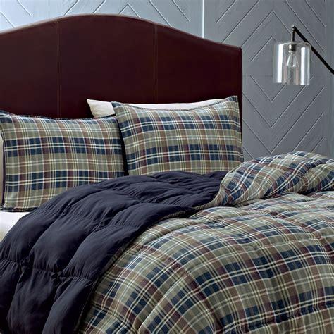 plaid bedding sets eddie bauer rugged plaid comforter set from beddingstyle