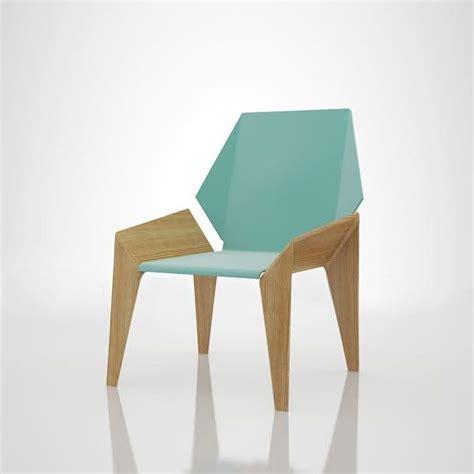 Origami Like Seated Furniture Origami Chairs
