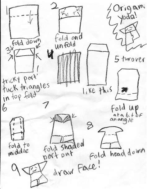 how to fold the real origami yoda how to fold origami yoda 2