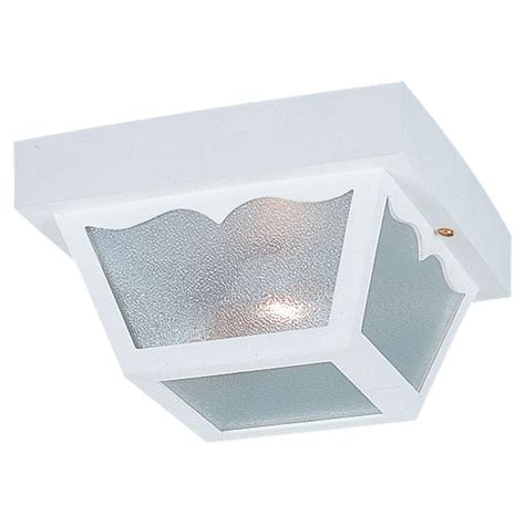 white ceiling light fixture sea gull lighting lakeview 2 light black outdoor ceiling