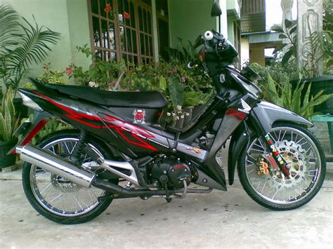 Modifikasi Supra X 125 Indoprix by Gambar Modifikasi Supra X 125 Sederhana Terbaru Model Road