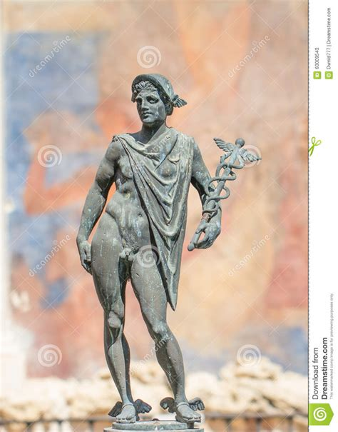 god statue god hermes statue stock photo image 60009543