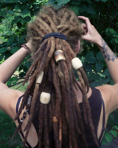 beaded dreads large dread 1 big bead for from