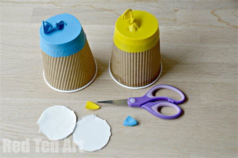 paper cup crafts for paper cup popper craft ted s