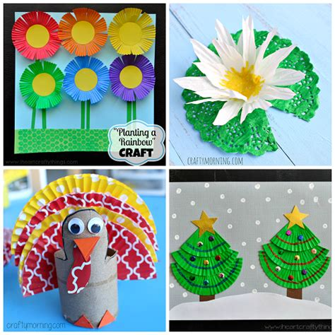 how to make crafts for creative cupcake liner crafts for to make crafty