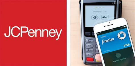 jcpenney credit card payment make payment jcpenney now accepts apple pay nationwide integrates with