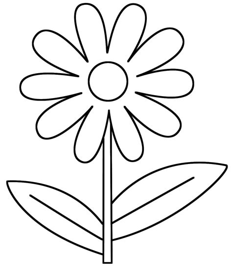 coloring book pictures of flowers flower coloring sheets 7