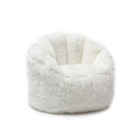 free bean bag chairs bean bag chair for adults white fluffy shaggy