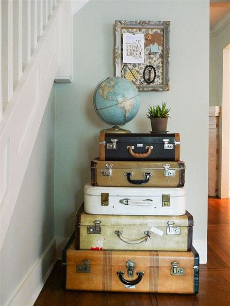 decore home vintage luggage home decor
