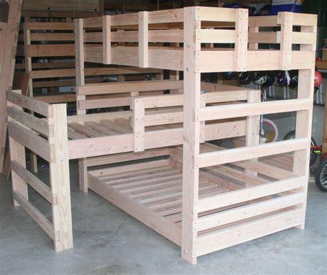 bunk bed plans bunk bed plans l shaped pdf woodworking