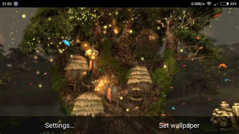 3d tree wallpaper magic tree 3d live wallpaper android apps on play