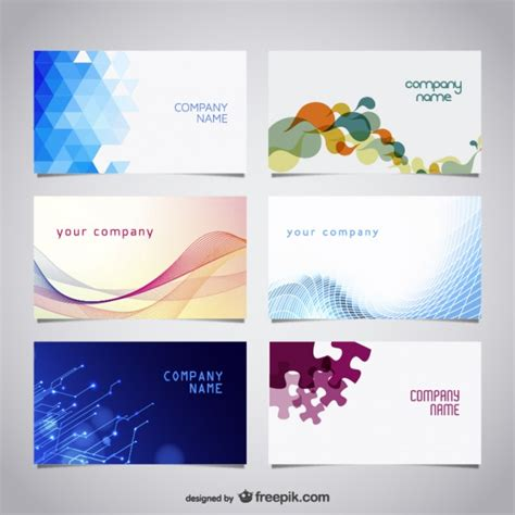 free software for card 20 free business card design templates from freepik