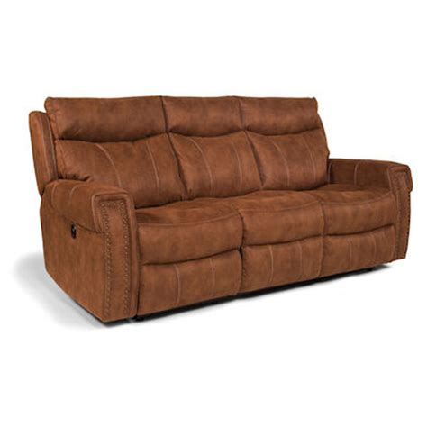 flexsteel reclining sofa flexsteel 1450 62p wyatt power reclining sofa discount