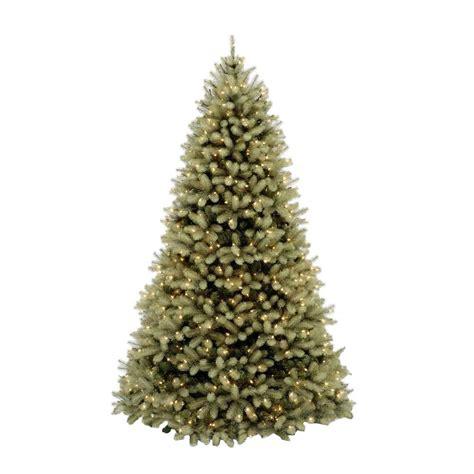 10 pre lit tree home accents 10 ft pre lit downswept douglas fir