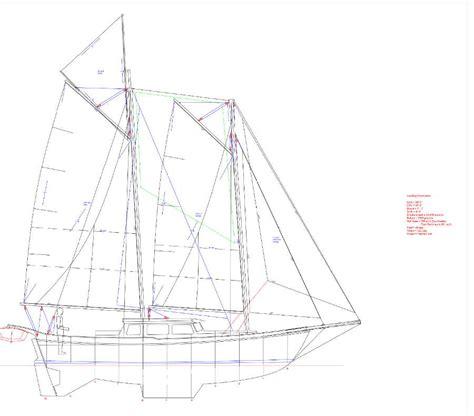 origami steel sailboat ragsdale schooner 36 keel origami style steel