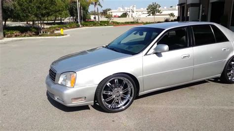 Cadillac On Rims by 2001 Cadillac Dts On 22 Inch Velocity Wheels Doovi