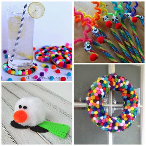 cristmas crafts for pom pom crafts for crafty morning