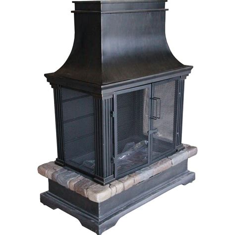 outdoor fireplace outdoor fireplaces outdoor heating the home depot